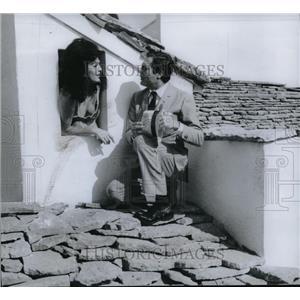 1965 Press Photo Marcello Mastroianni in Casanova 70