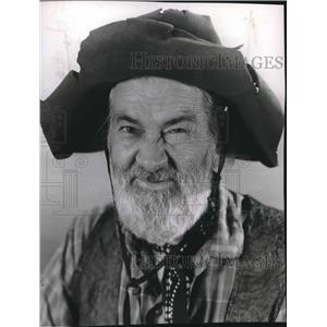 1951 Press Photo Gabby Hayes With His Own Show