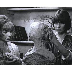 1970 Press Photo Jennie Linden & Glenda Jackson in Women In Love