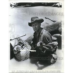 1964 Press Photo William Holden starring in The Bridge on the River Kwai