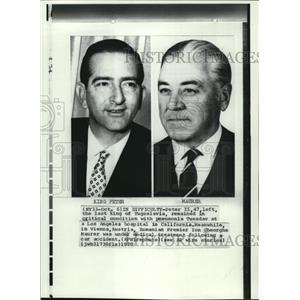 1970 Wire Photo Romania Premier Ion Gheorghe Maurer - cvw07231