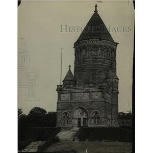 1922 Press Photo The Garfield Memorial - cva89751