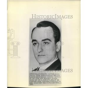 1942 Wire Photo Associated Press correspondent William King - cvw06261