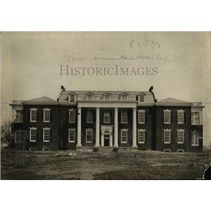 1913 Press Photo Good Samaritan Hospital in Cleveland - cvb00106