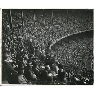 1942 Press Photo Crowd at All-Star Game in Stadium - cva95762
