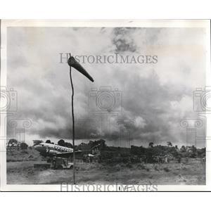 1978 Press Photo Flight to Lalibela Over Rugged Terrain Halts - ora94615