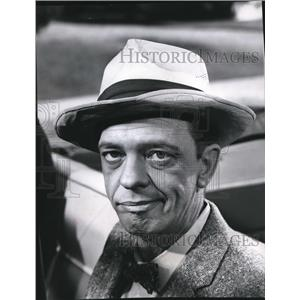 1966 Press Photo Don Knotts As Barney On Andy Griffith Show - orx01101