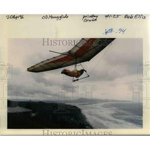 1996 Press Photo Hang Glider - orb18990