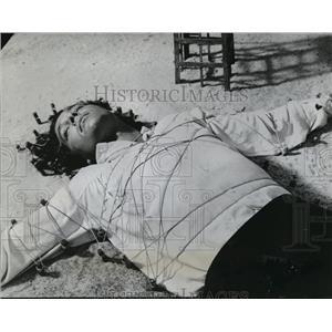 1960 Press Photo Kerwin Mathews in 3 Worlds of Gulliiver - orx02779