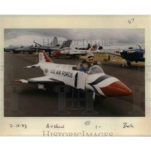1993 Press Photo Porland Rose Festival - Air Show - orb36095