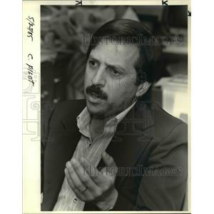 1985 Press Photo Tony Passannante been Flying Since a teenager - ora65636