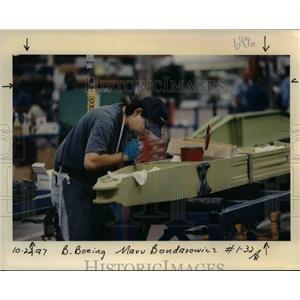 1997 Press Photo Boeing Company Gresham - orb01360