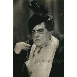 1934 Press Photo Marie Dressler as Carlotta Vance in Dinner at Eight - orx03540