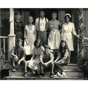 Press Photo The Waltons  - orx02064