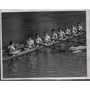 1936 Press Photo U of California crew Tom Maxwell, Gene Berhenkamp - nes42785