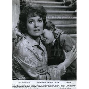 1965 Press Photo Maureen O'Hara and Olivia Hussey - cvp77849