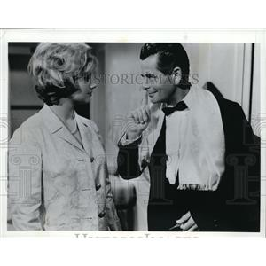 1967 Press Photo Shirley Jones & Glenn Ford in The Courtship of Eddie's Father