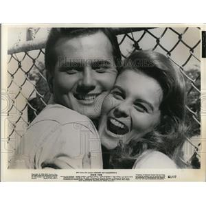 1962 Press Photo Pat Boone and Ann Margaret in State Fair - cvp78175