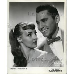 1955 Press Photo Marjorie and Lee Murray - cvp74631