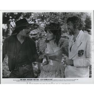 1970 Press Photo James Coburn Lynn Redgrave and Robert Hooks - cvp78637