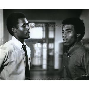 1970 Press Photo Calvin Lockhart & James Watson Jr in Halls of Anger - cvp80725