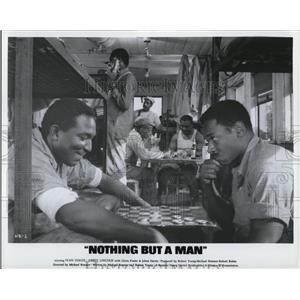 1966 Press Photo Leonard Parker and Ivan Dixon in Nothing But A Man - cvp78462
