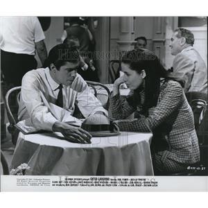 1967 Press Photo Remi Santoni & Janet Margolin in Enter Laughing - cvp78578
