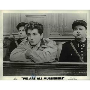 1957 Press Photo Marcel Mouloudji in We Are All Murderers - cvp77162