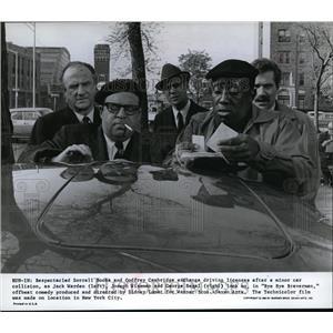 1968 Press Photo George Segal & Joseph Wiseman in Bye Bye Braverman - cvp80552