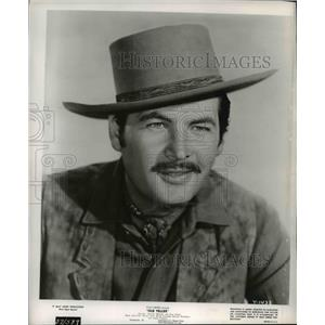 Press Photo Fess Parker in Old Yeller - cvp77803