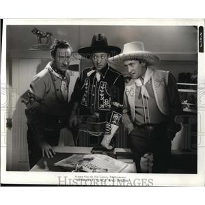 1939 Press Photo Ritz Brothers in Straight Place and Show - cvp80460