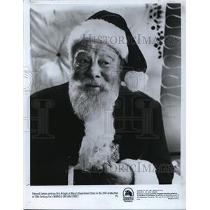 1947 Press Photo Edmund Gwenn in Miracle on 34th Street - cvp78991