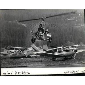 1983 Press Photo Gynocopter also known as Autogyno  - spx03199