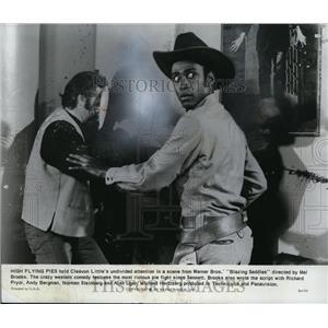 1975 Press Photo Cleavon Little in Blazing Saddles - cvp80379
