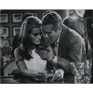 1969 Press Photo Paul Newman & Toni Clayton in Winning - cvp80876