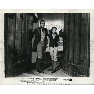 1946 Press Photo Black Beauty Richard Denning, Mona Freeman - cvp74654