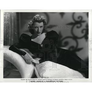 1939 Press Photo Actress Muriel Angelus - cvp78170