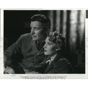 1969 Press Photo Muriel Angelus and Ronald Colman in The Light That Failed