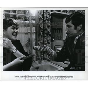 1968 Press Photo Lynn Redgrave & Alan Bates in Georgy Girl - cvp80669