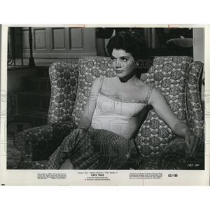 1962 Press Photo Polly Bergen in Cape Fear - cvp78191