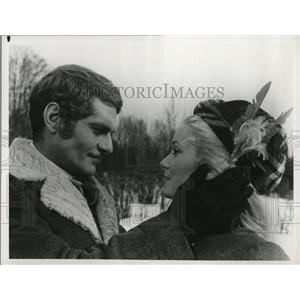 1968 Press Photo Catherine Deneuve & Omar Sharif in Mayerling - cvp78247