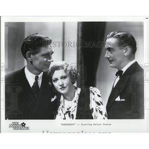1936 Press Photo Walter Huston in Dodsworth - cvp78566