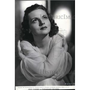 1939 Press Photo Jean Cagney in Campus Wives - cvp74334