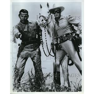 Press Photo Scene from The Lone Ranger - cvp74417