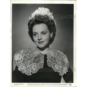 1945 Press Photo Jeanne Cagney Yankee Doodle Dandy - cvp74358