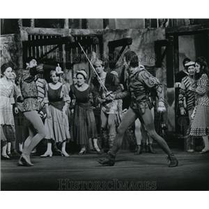 1967 Press Photo Scene from Romeo and Juliet - cvp74774
