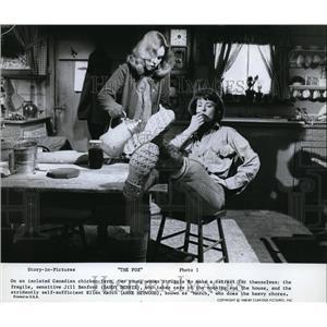 1968 Press Photo Sandy Dennis & Anne Heywood in The Fox - cvp80410