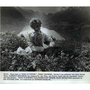 1971 Press Photo ABC presents Song Of Norway with Florence Henderson and