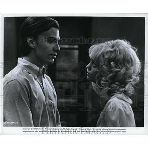 1972 Press Photo Goldie Hawn & Edward Albert in Butterflies Are Free - cvp80592