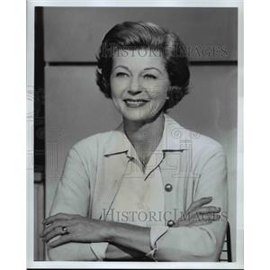 1960 Press Photo Harriet Nelson - cvp76475